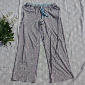 Sonoma Pajama pants Heart Print sz M
